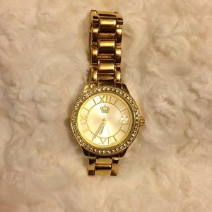 "Premier Designs ""Crown"" Gold Watch"